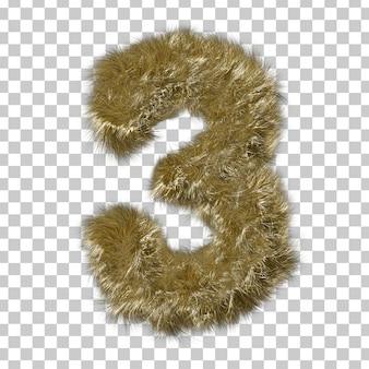ブロンドの毛皮番号3