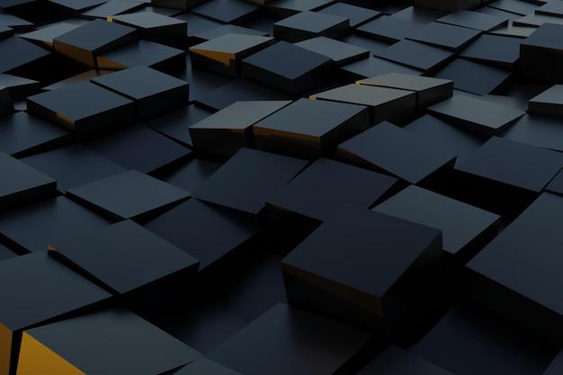 3d абстрактный геометрический квадратный фон