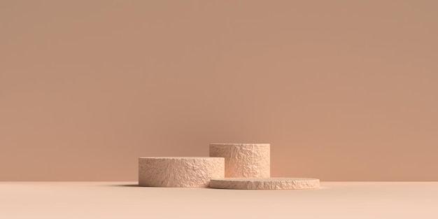 3d абстрактная сцена геометрия форма подиум