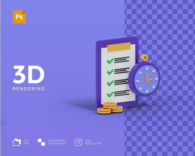 3d 알람 시계 품질 체크리스트 목표 계획