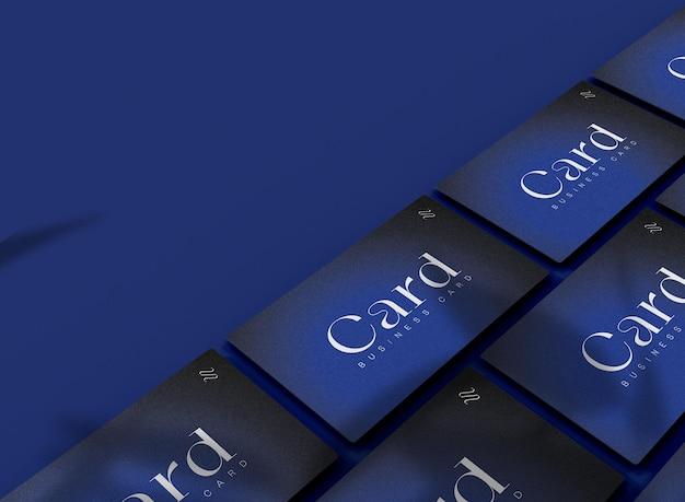 Copyspace와 명함 이랑의 3d 배열