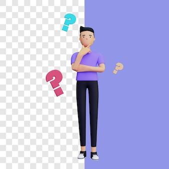 3d ask illustration concept
