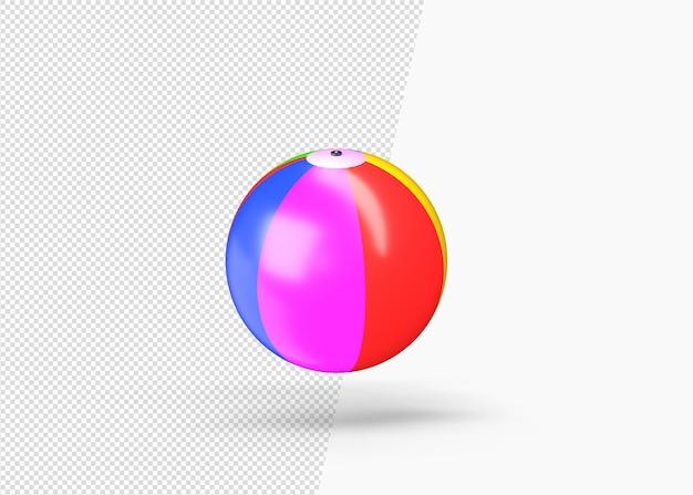 3d 공 장난감 3d 렌더링 격리 된 렌더링 프리미엄 PSD 파일
