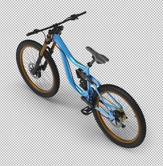 3d велосипед изолированы.