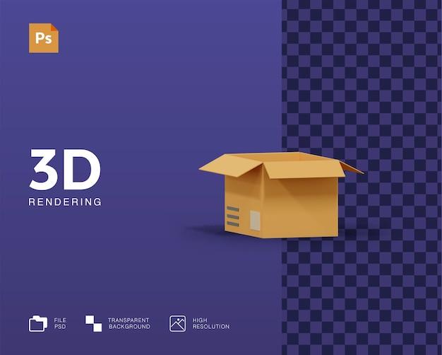 3dボックスイラスト