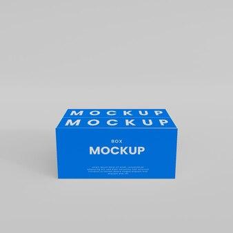 Мокап 3d коробки