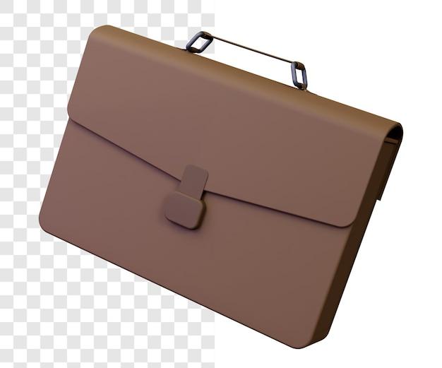 Иллюстрация 3d портфель