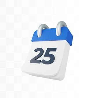 3d calendar png