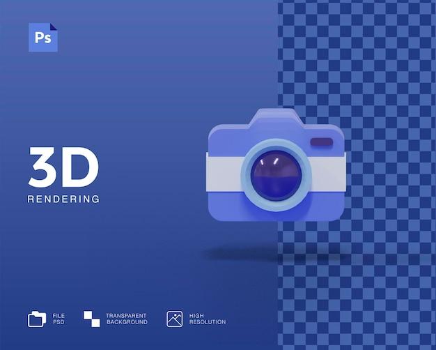 3d camera icon design
