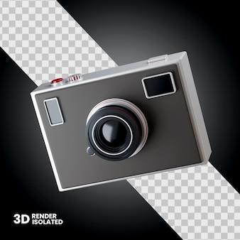 分離された 3 d カメラ アイコン