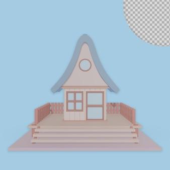 3d мультфильм дом