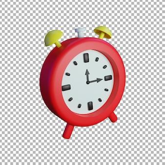 3d時計のイラスト