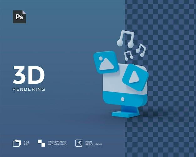 3d компьютерная иллюстрация