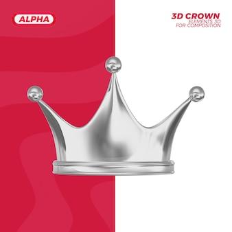 3d визуализация рендеринга короны