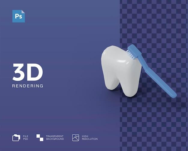 3d 치과 건강 그림