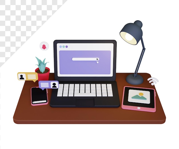 3d devices with online chat