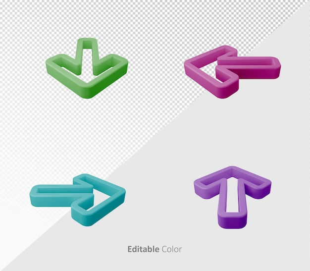 3d different shaped rounded podium background template