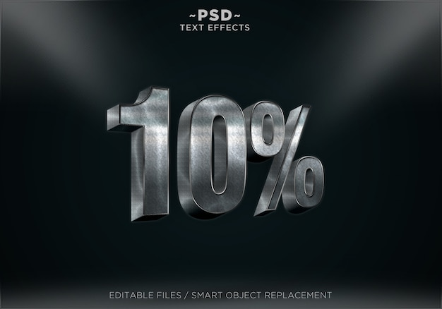 3d discount style editable text effects