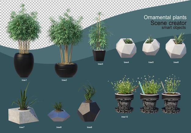 3d-отображение различных видов орнаментального оформления