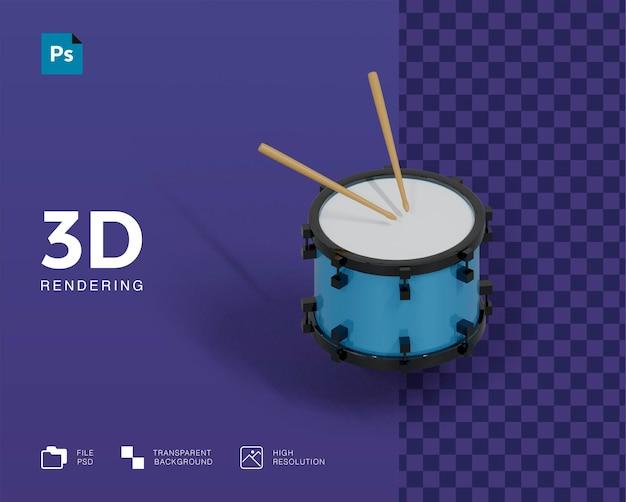 3d барабан иллюстрации