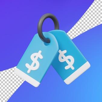 Ценники для электронной коммерции 3d