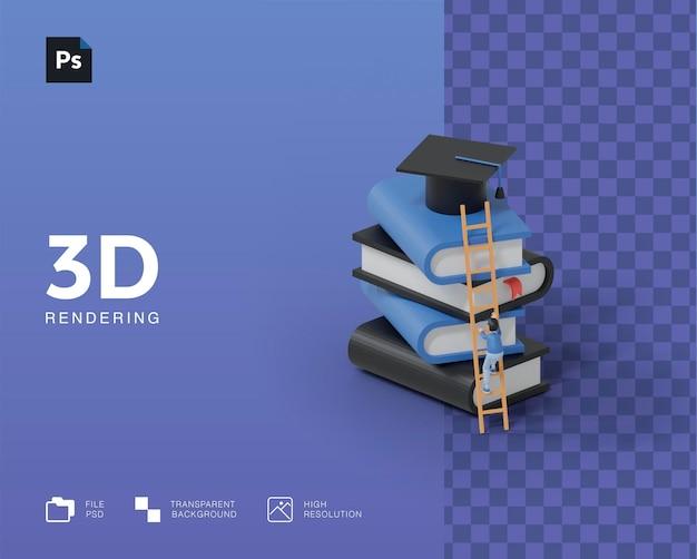 3d иллюстрации образования