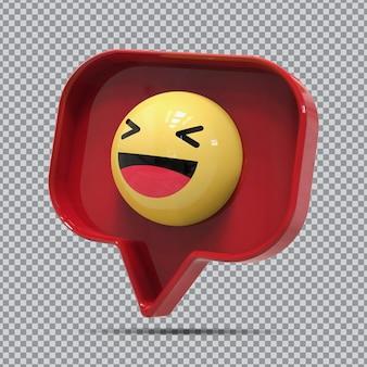 3d смайлики смешные от facebook