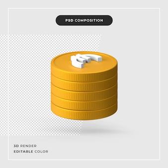 3 d ユーロの現実的な概念