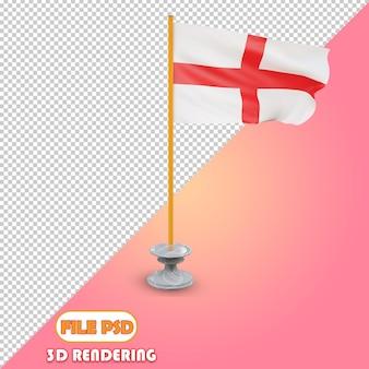 イギリスの3d旗