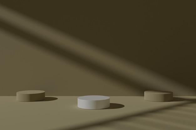 3d геометрический фон сцены подиума