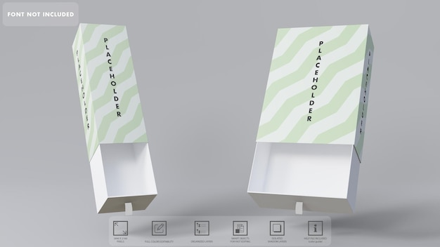 3d 선물 상자 모형