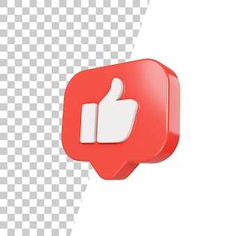 3d glossy like icon design