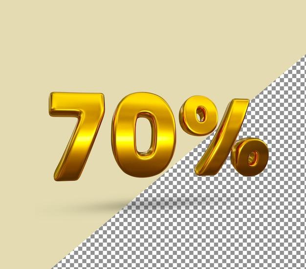 3d золотой номер 70 процентов от