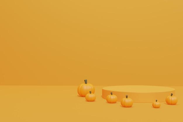 Подиум на хэллоуин 3d модель