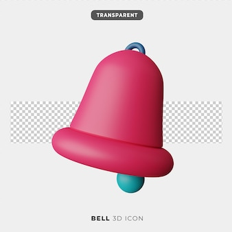 3d icon of bell