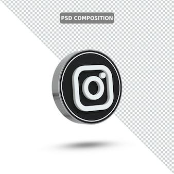 3 d アイコン instagram ロゴ