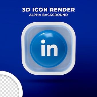 고립 된 3d 아이콘