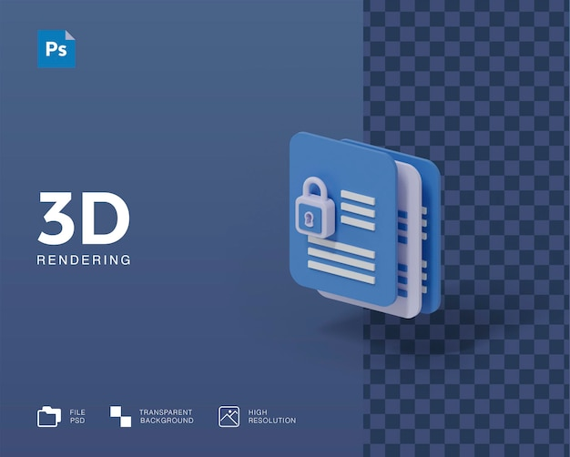 3dイラストレーションファイルのセキュリティ