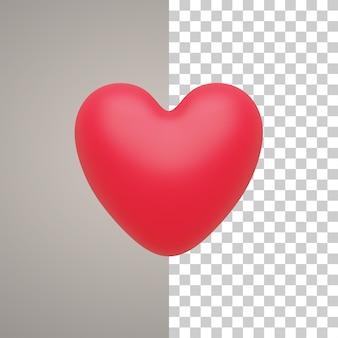 3d иллюстрации сердце