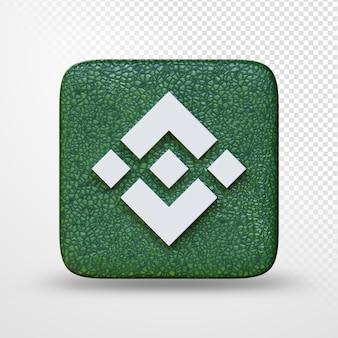 3d иллюстрации логотипа символа криптовалюты