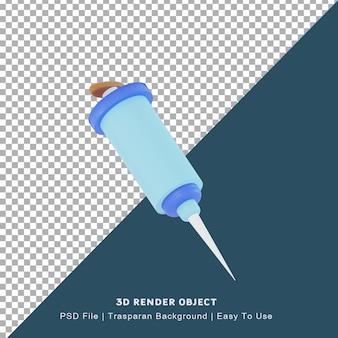 Значок вируса 3d иллюстрации