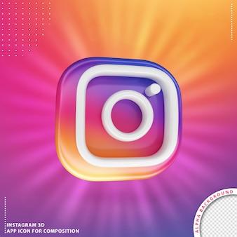 3d instagram 응용 프로그램 회전 버튼