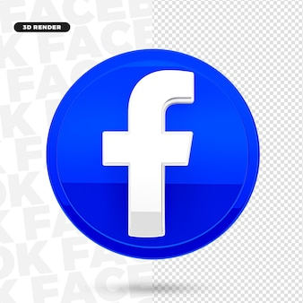 Значок логотипа 3d instagram для композиции premium psd