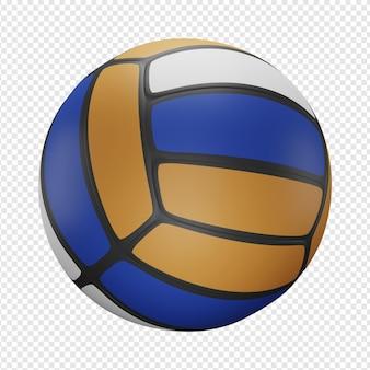 3d изолированных рендеринг волейбольной иконы psd