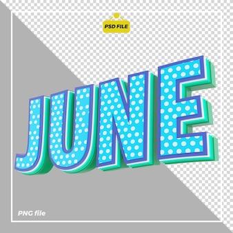 3d июнь дизайн