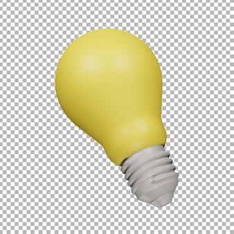 3d lamp illustration
