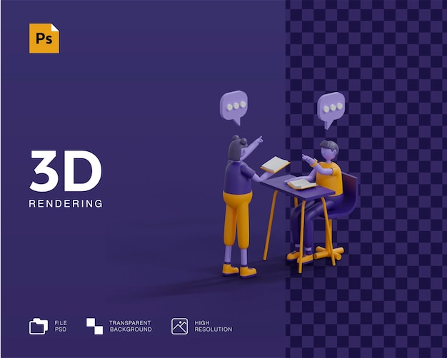 3d learn anywhere 컨셉 렌더링
