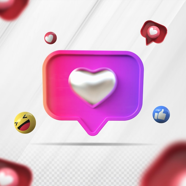 3d как instagram креативная визуализация