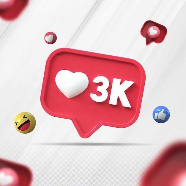 3d как k instagram визуализации