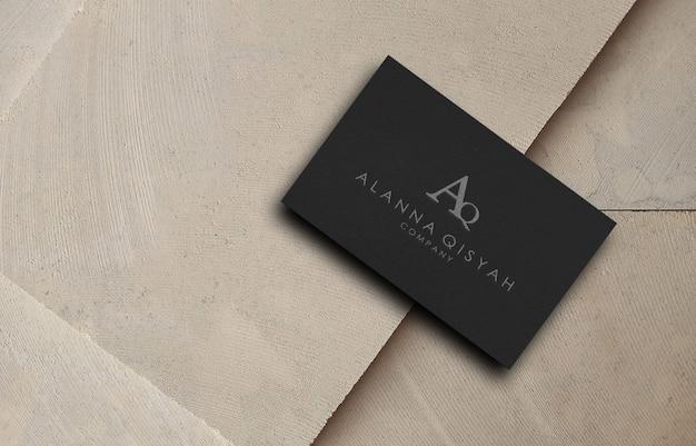 3d логотип макет для бизнес-компании